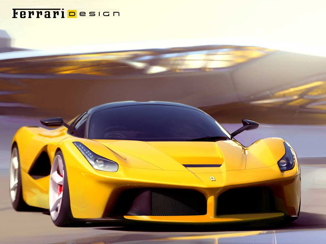 laferrari 3 - Ferrari 2014 Yellow