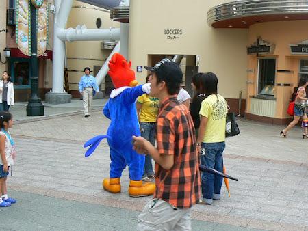 Imagini Universal Studios Osaka: a plecat Woody