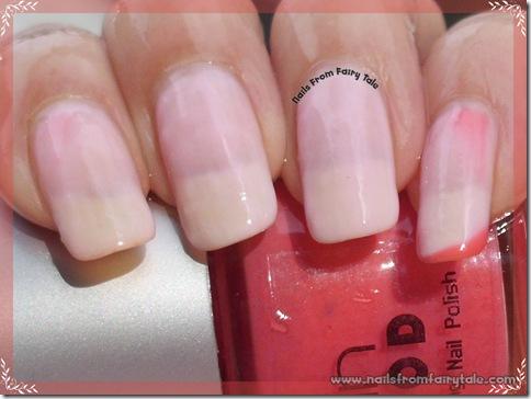 ylin mood nail polish - pink red hot 3