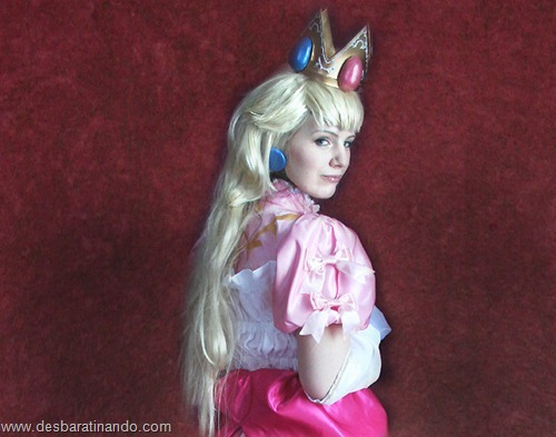 princesa peach cosplay Princess Peach cosplya desbaratianndo (11)