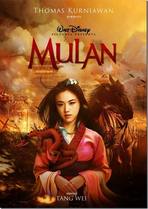 Tang Wei como Mulan