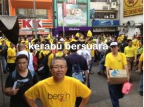 Live Bersih 3.0! Lensa dari Petaling Street