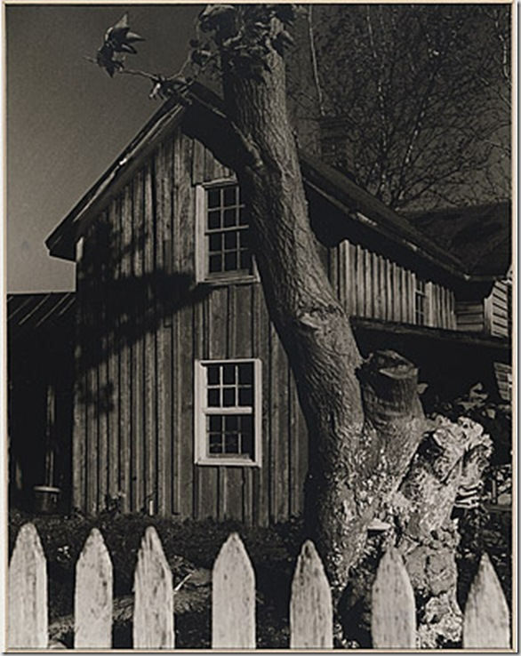 Anton Bruehl - not titled [Wooden house, Canaan, Connecticut] c 1925