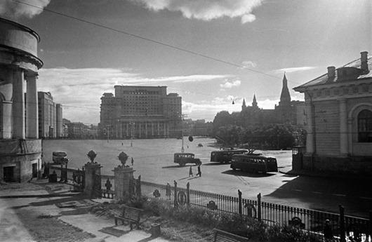 Москва в фотографиях Семена Фридлянда