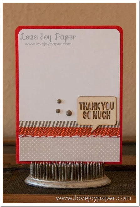 LoveJoyPaperOneCardTwoRet0141