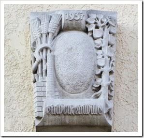 Weiler Rems Nazi Inschrift Rathaus (2)