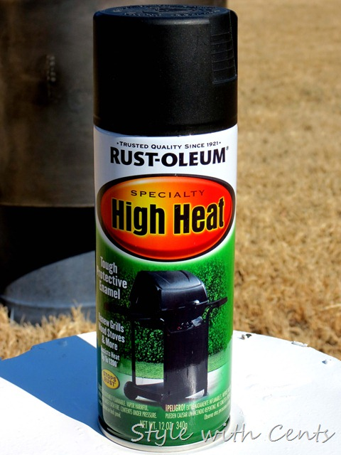 high heat rustoleum style with cents