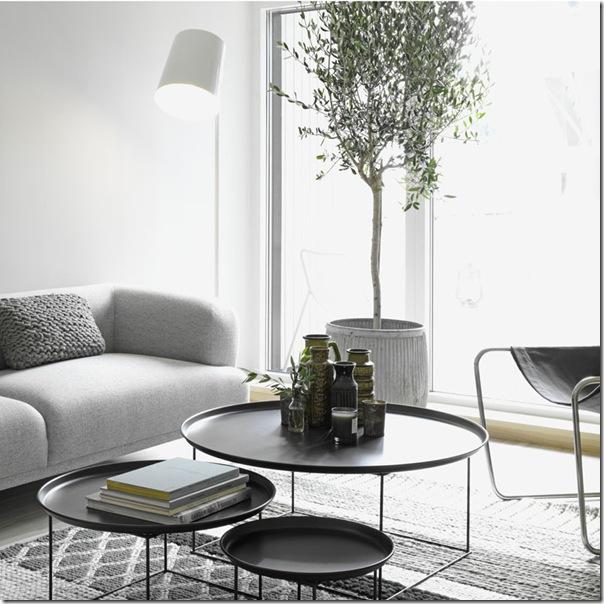 case e interni - stile minimal contemporaneo - grigio - legno decapato (3)