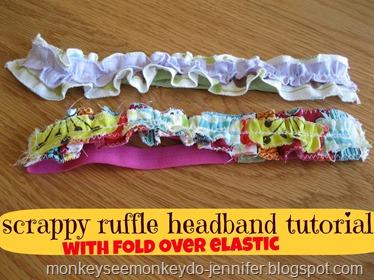 ruffle headband tutorial title