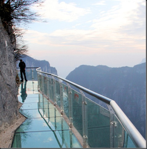 glasswalk-pod de sticla-china