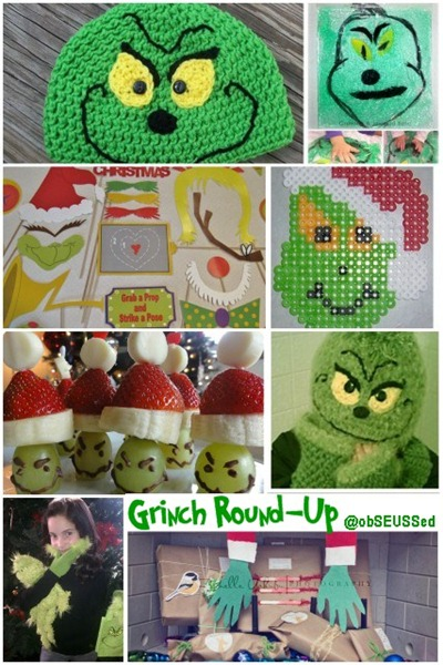 Grinch Craft Round up at obSEUSSed