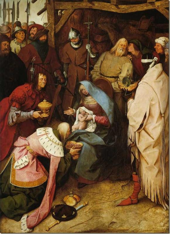 Pieter bruegel l'ancien, Adoration des mages