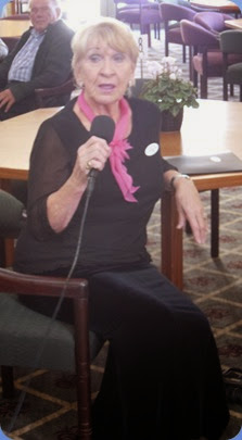 Our gracious host for the day, Club member Margaret Black.