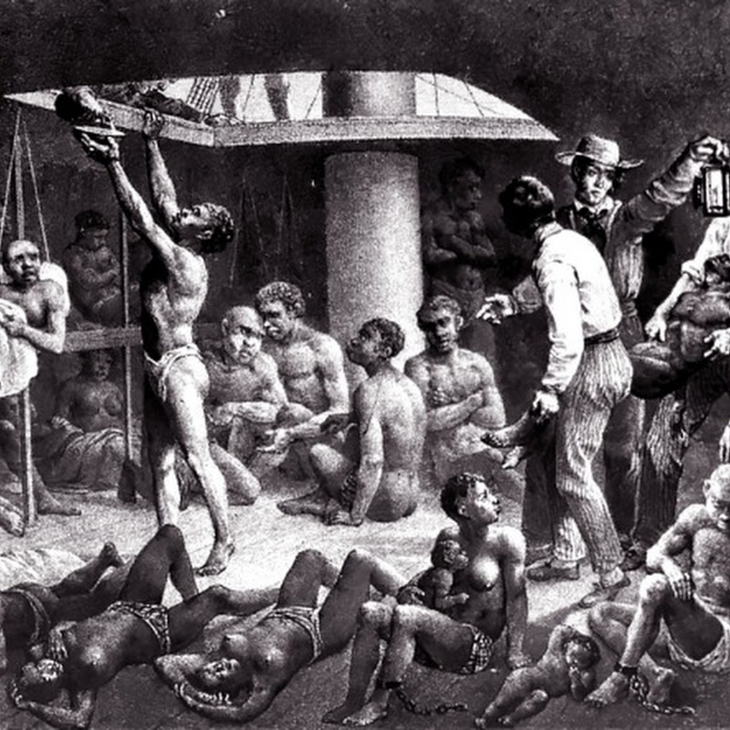 A chacina Zong: escravos jogados ao mar para os donos receberem o seguro