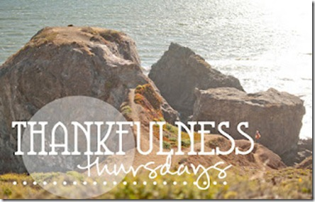 Thankfulness Thursdays