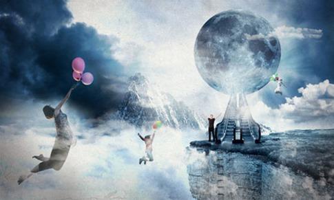 21. Crear un mundo flotante