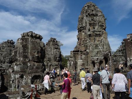 Obiective turistice Angkor: templul Bayon