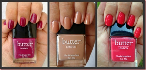 Butter London Swatches