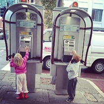 public phones - a novelty