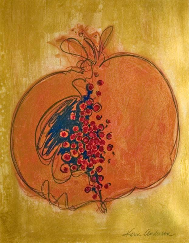 Golden Pomegranate
