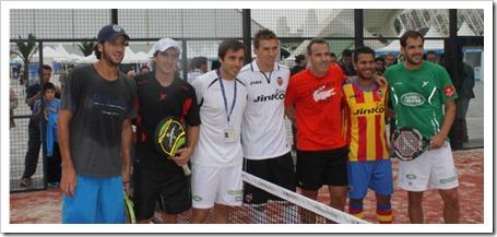 Drop Shot y futbolistas, torneos con famosos y VIPS.