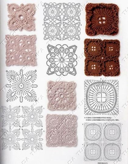 padrão croche a