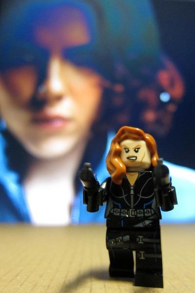 Black Widow Avengers Minifig Lego
