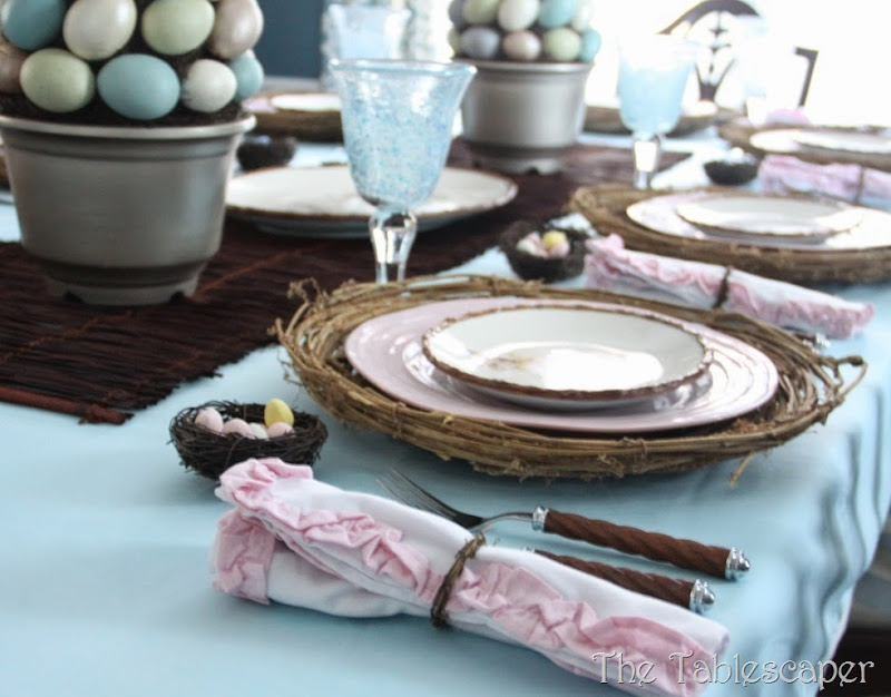 Rustic Rabbits Easter Tablescape - The Tablescaper18