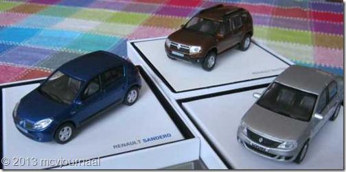 Renault miniaturen 01
