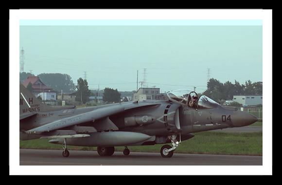 Harrier Vstol Strike Jet