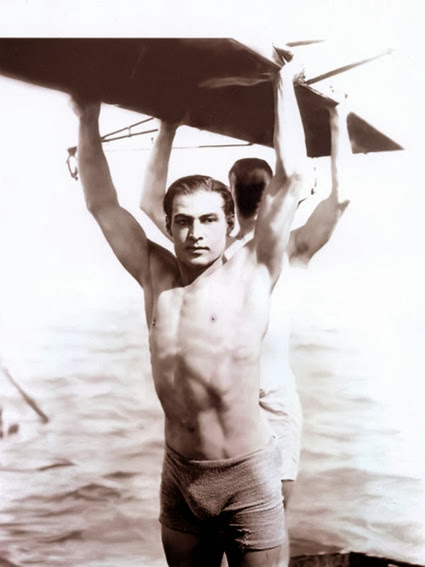 Rudolph Valentino in The Young Rajah, 1922