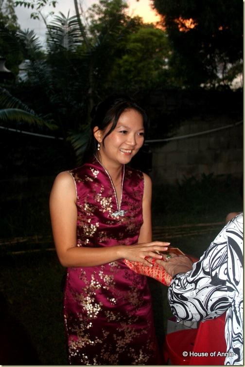 Penang Wedding Tea Cermony - Bride