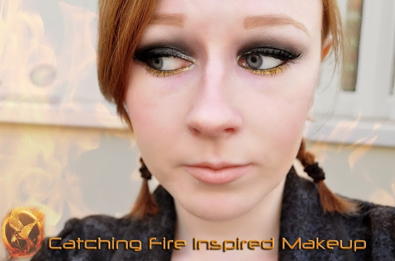 hunger games catching fire makeup girl on fire katniss everdeenedit