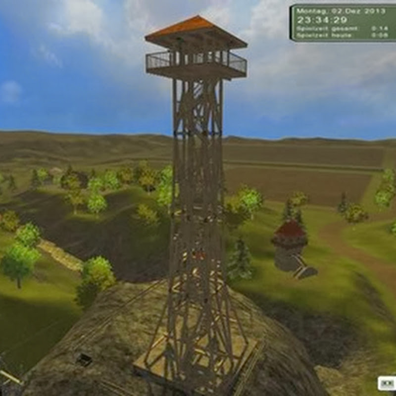 Farming simulator 2013 - Observation tower v 1.0 (Torre panoramica)