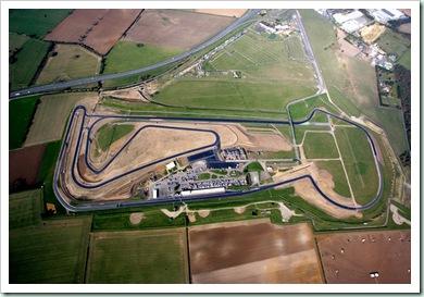 snetterton aerial view