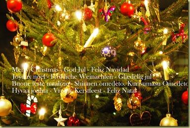 Julehilsen på mange sprog