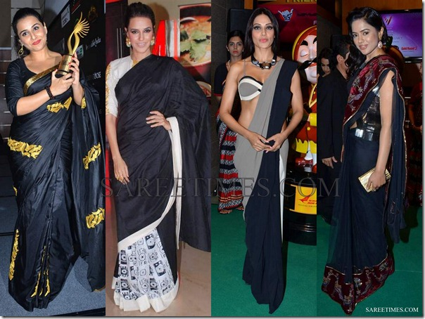 Black_Designer_Saris (1)