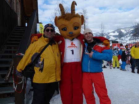 Schi Kaprun: Mascota scolii Alpine