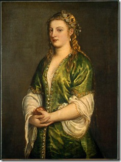 1555, Portrait of a Lady, Titian (Venetian)_ Nat'l Museum of