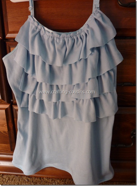 Crafty Cousins' ruffle tank tutorial (9)