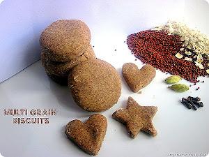 Multi grain biscuit