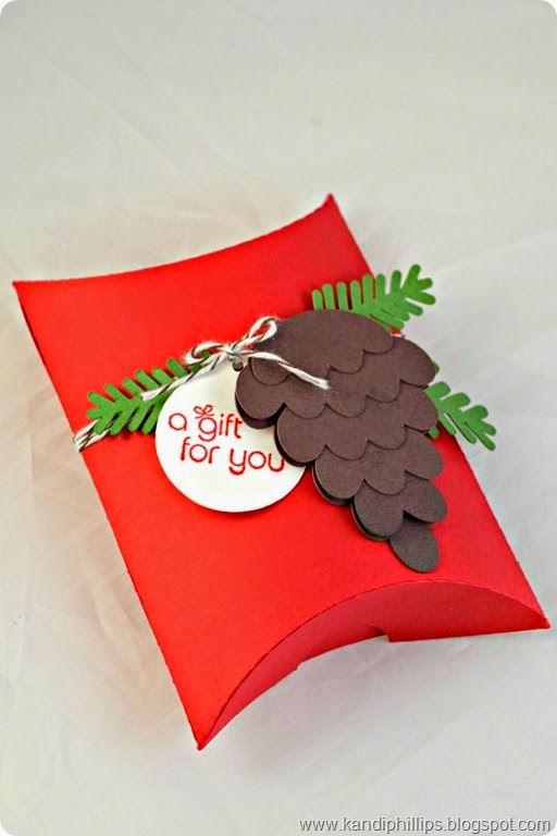 A Gift for You Pillow Box
