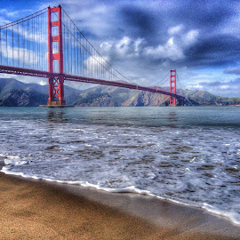 Golden gate bridge overlook..  by Eljayelijah Arceo - Landscapes Travel
