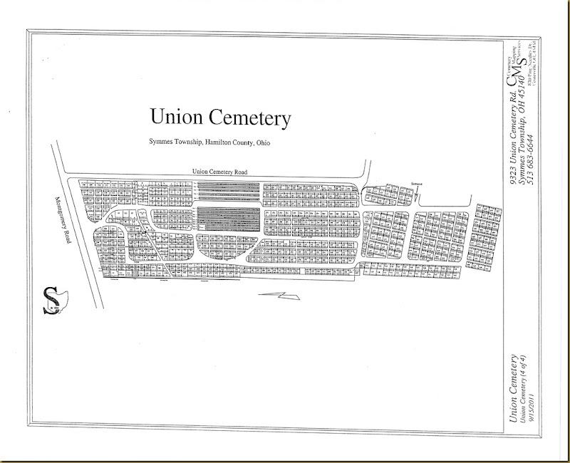 Union CemeteryMap,SymmesTwp,Hamiltonco,OH_0001