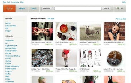 Selling handmade crafts and gift items to the top 5 for Website to sell crafts for free