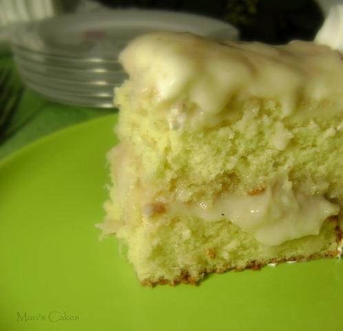 BIZCOCHO de GUANABANA, SOURSOP CAKE, DOMINICAN CAKE, BIZCOCHO DOMINICANO (223)