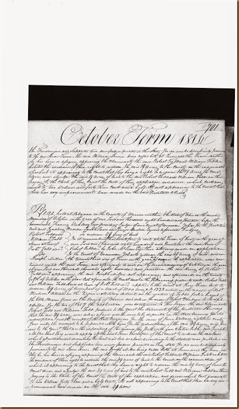 William Irwin was sued by Robert and William Todd in Oct 1814_0007