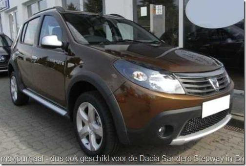 Dacia Sandero Stepway Brun Cajou 01