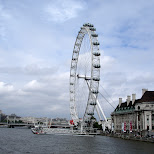 london eye in London, London City of, United Kingdom