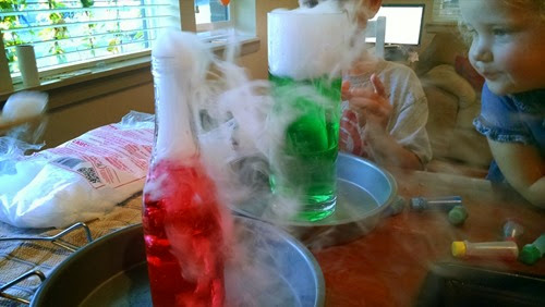 Dry Ice and Water